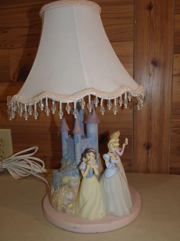 Hampton Bay Disney Princess Lamp Cinderella Castle Snow White