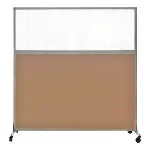 Versare Hush Screen 6 ft. Tall Portable Divider with Optional Wheels - Commercial Room Dividers at Hayneedle