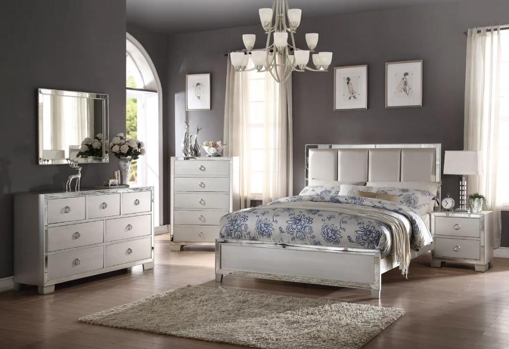 Lancelot Standard Configurable Bedroom Set Grey Bedroom Design