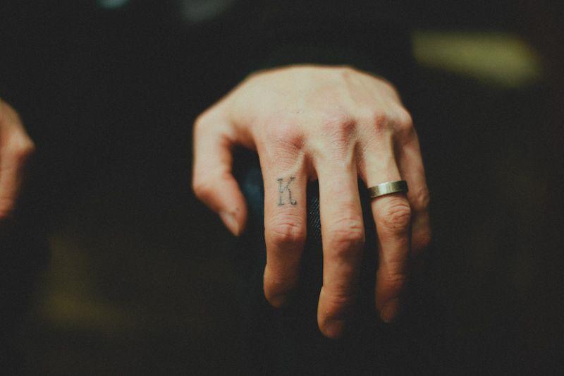 Oh Man Now I Want The Letter K On My Finger Ring Finger