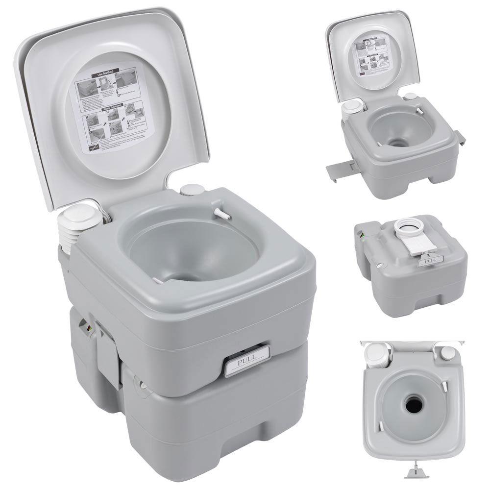 5 Gallon Portable Outdoor Camping Recreation Toilet Potty