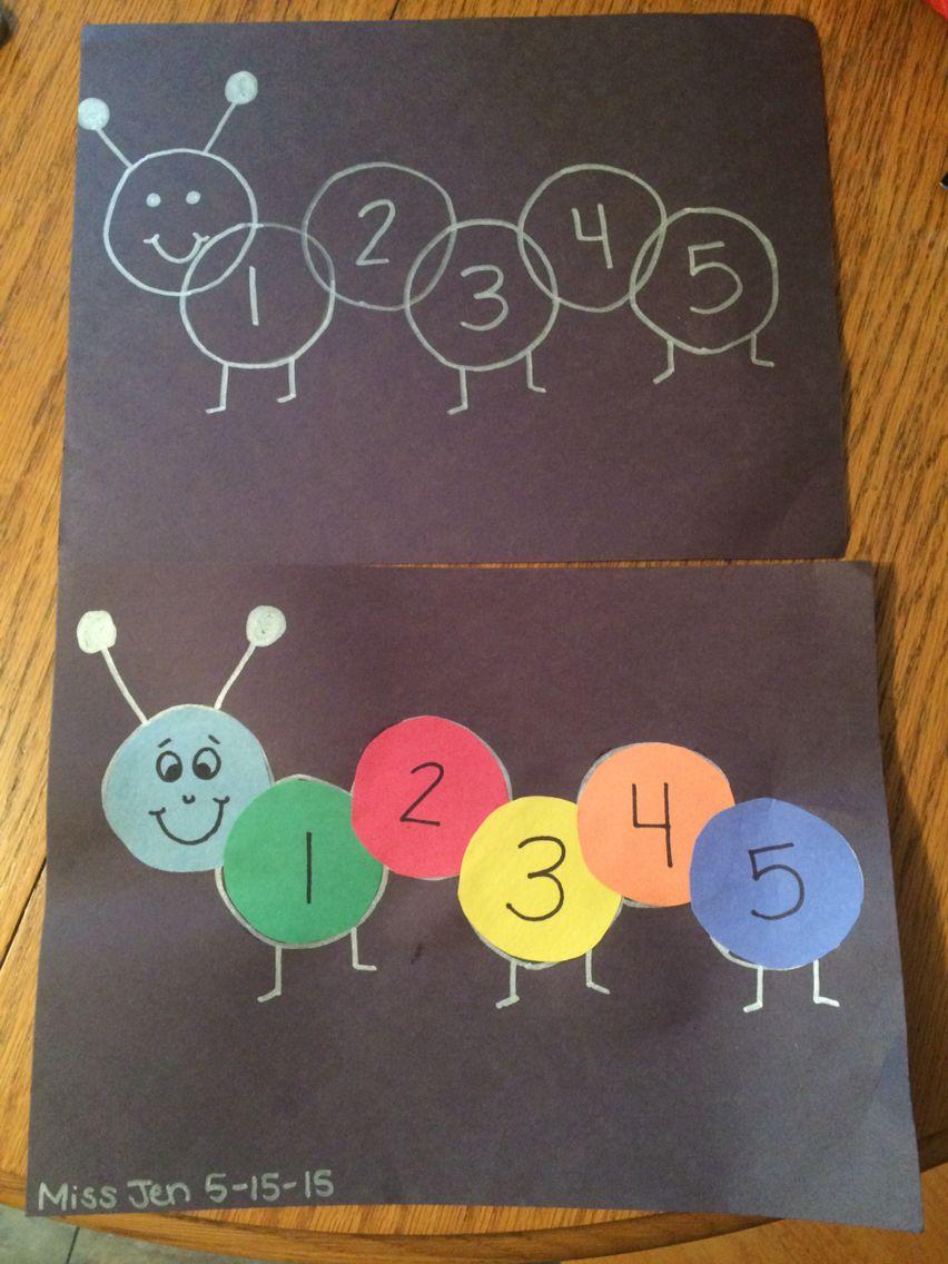 Numbers Caterpillar