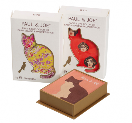 Paul & Joe's Spring Makeup Collection Inspired By Cats Packaging