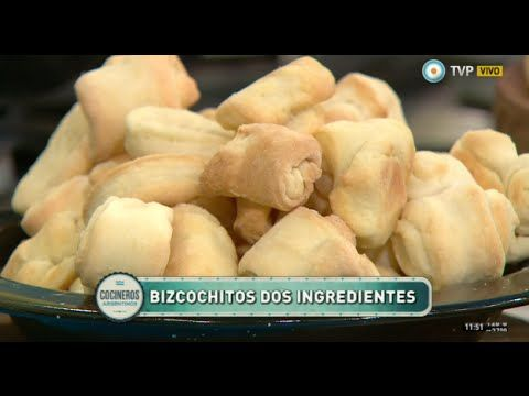 Bizcochitos y mini cremona con dos ingredientes