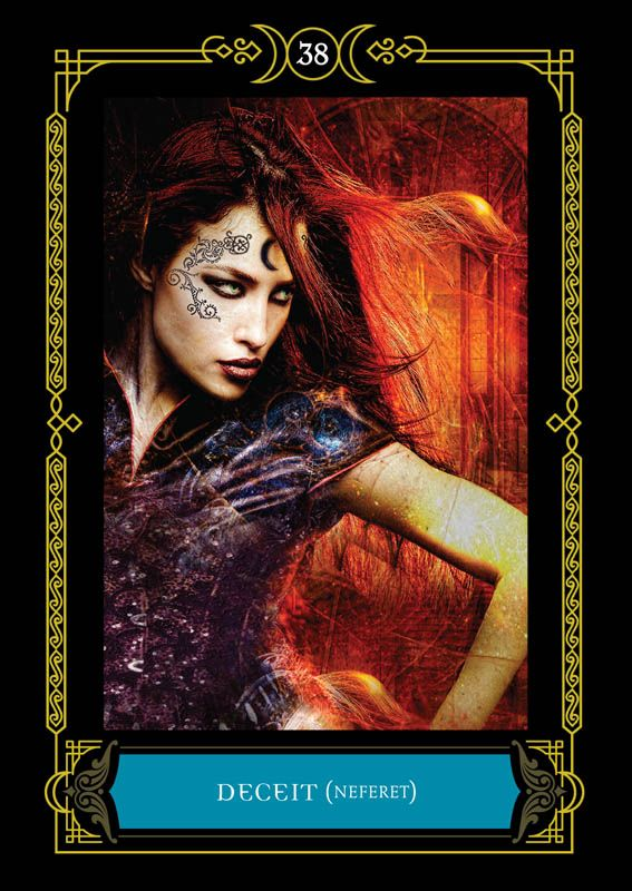 Deceit Neferet Colette Baron Reid Oracle Cards Founder Of Oracle School House Of Night Oracle Cards House Of Night Books