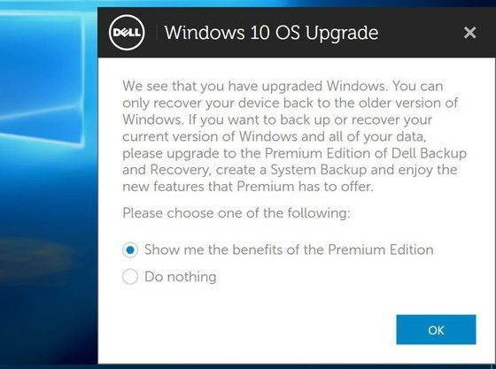 recovery media for windows 10 upgrade