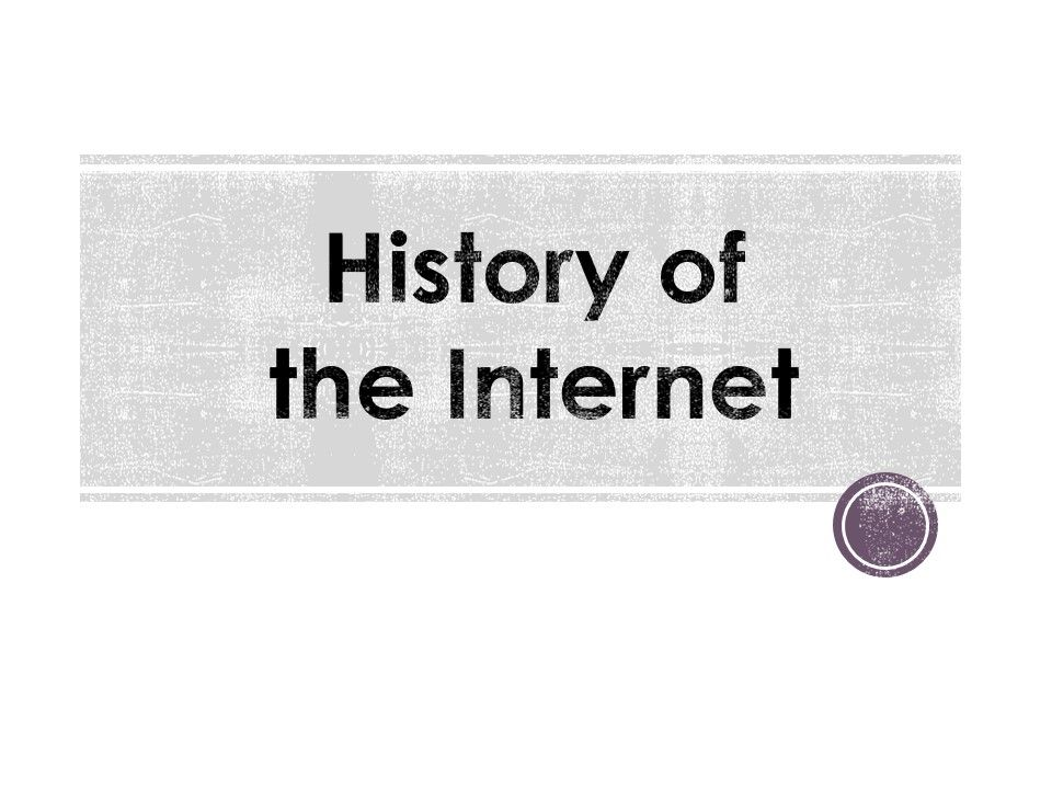 #History Of #Internet #Free #PowerPoint #Presentation at # ...
