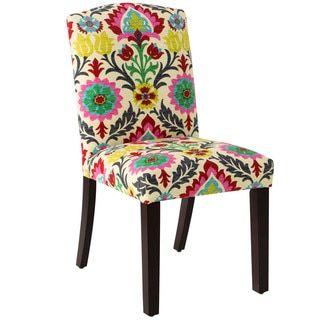 Shop For Skyline Furniture Santa Maria Desert Flower Cotton Upholstered  Arched Dining Chair. Get