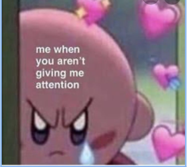 Now I Want The Attention Now Cute Love Memes Cute Memes Love You Meme