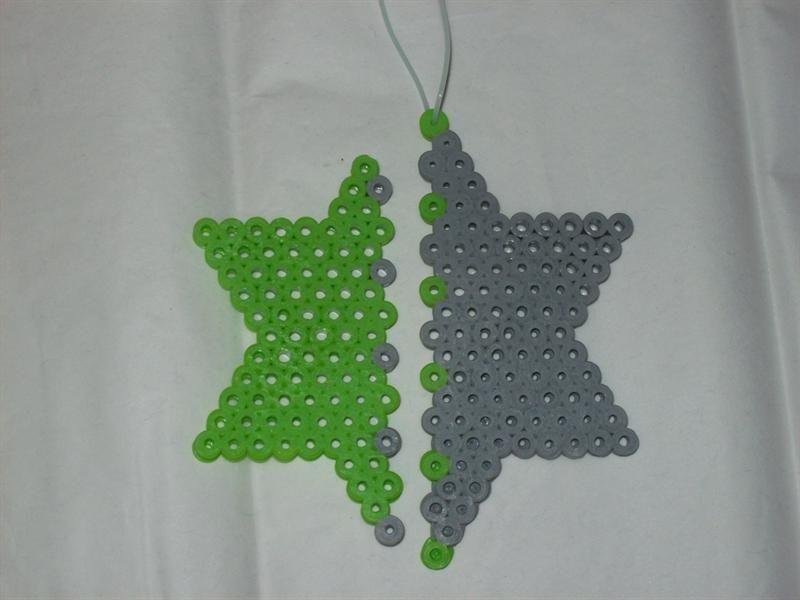 Star Necklace perler beads by Julissa F. -Perler® | Gallery