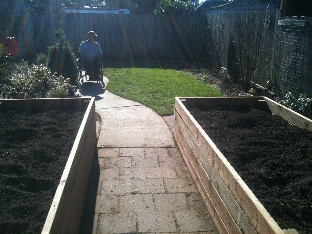 Raised Beds For Handicapped Gardening Will Be A Must Now
