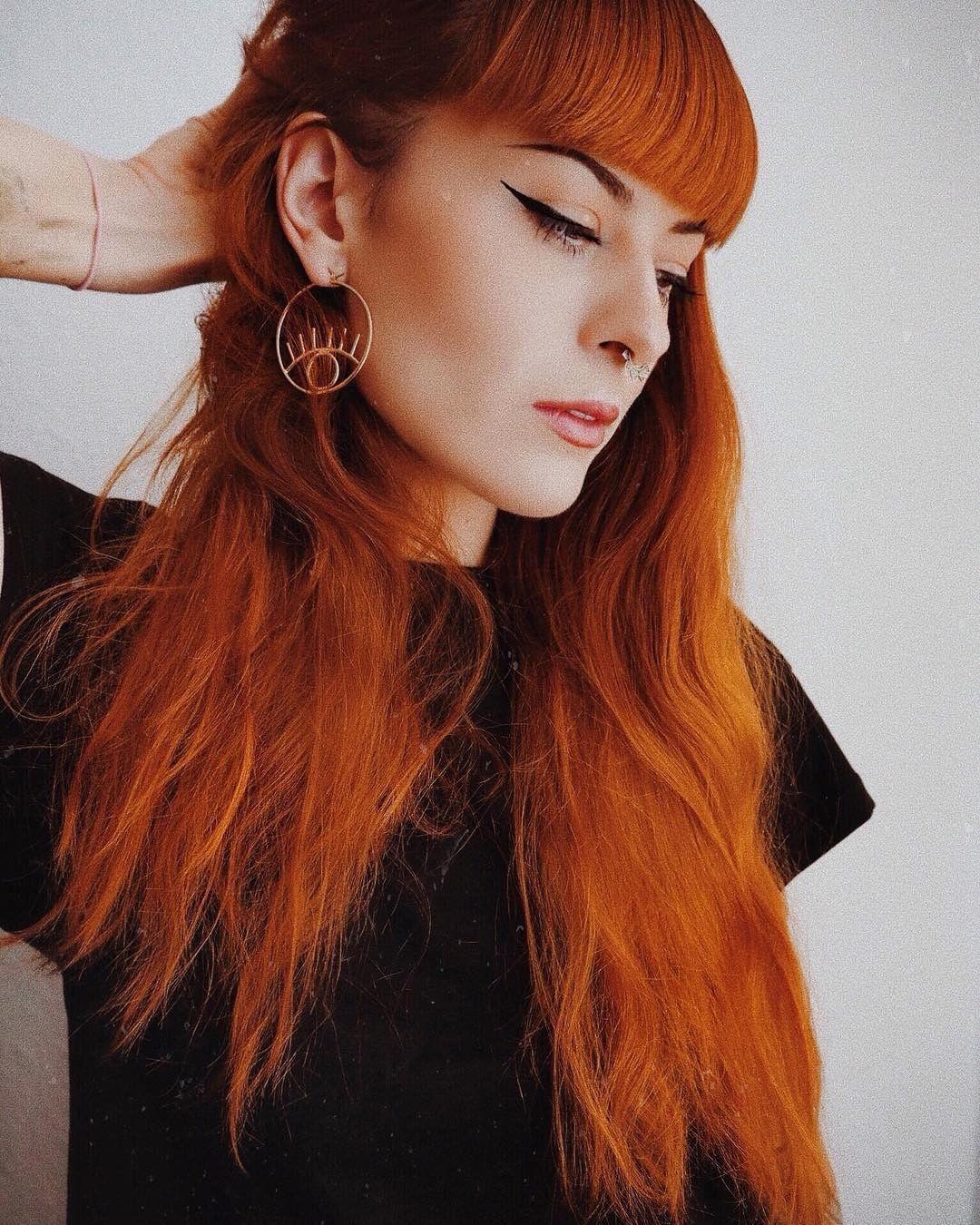 viorosie always give us redhead envy She uses Sunset Orange over ...