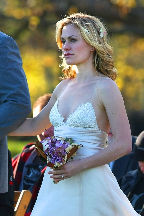 Anna Paquin S Wedding To Stephen Moyer Beautiful Ceremony