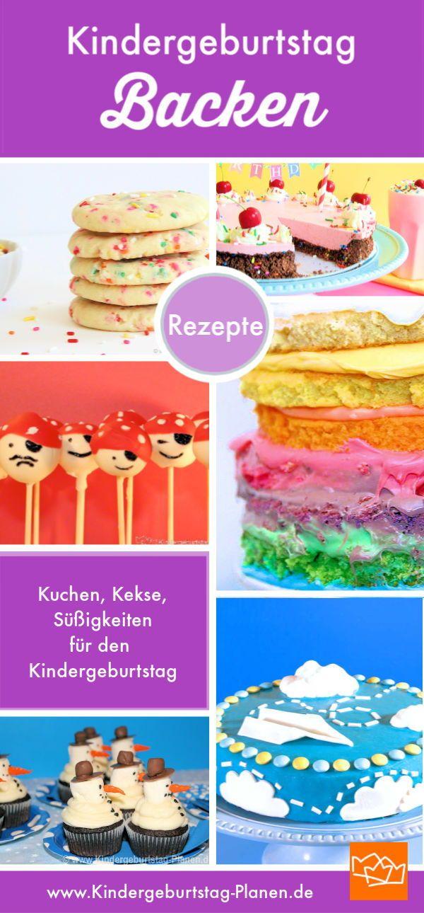 Kuchen, Kekse, Süßigkeiten ⋆ Kindergeburtstag-Planen.de