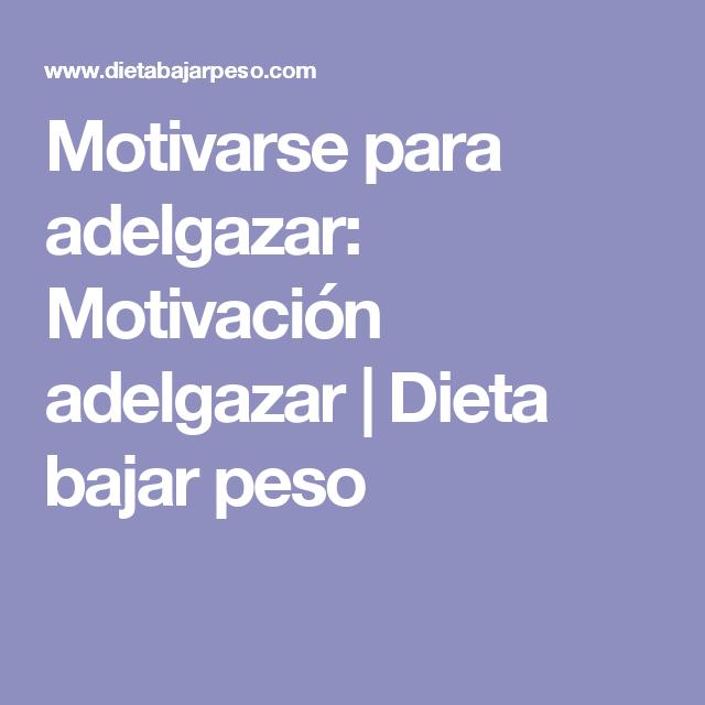 Imagenes para motivar a bajar de peso