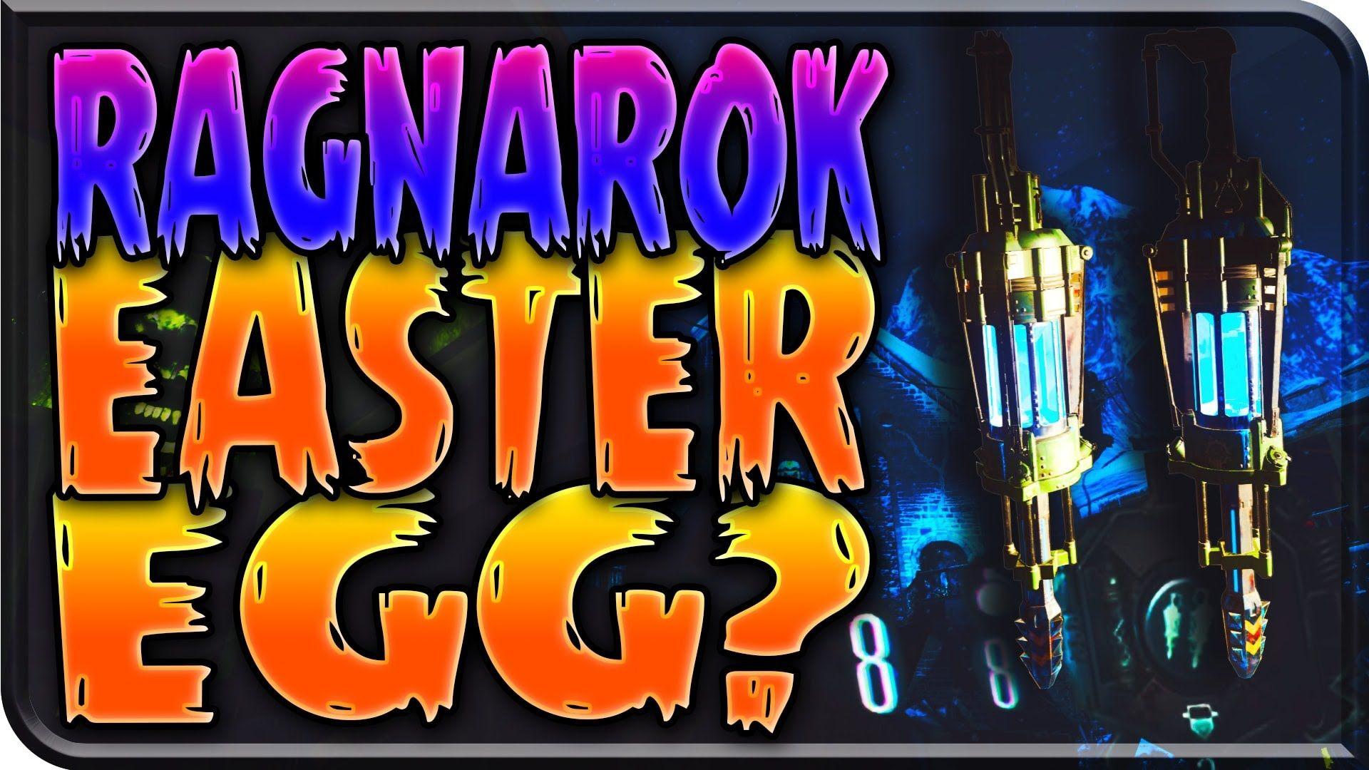 """Der Eisendrache: RAGNAROK """"EASTER EGG?"""" Possible Easter Egg Step w/ DG 4..."""