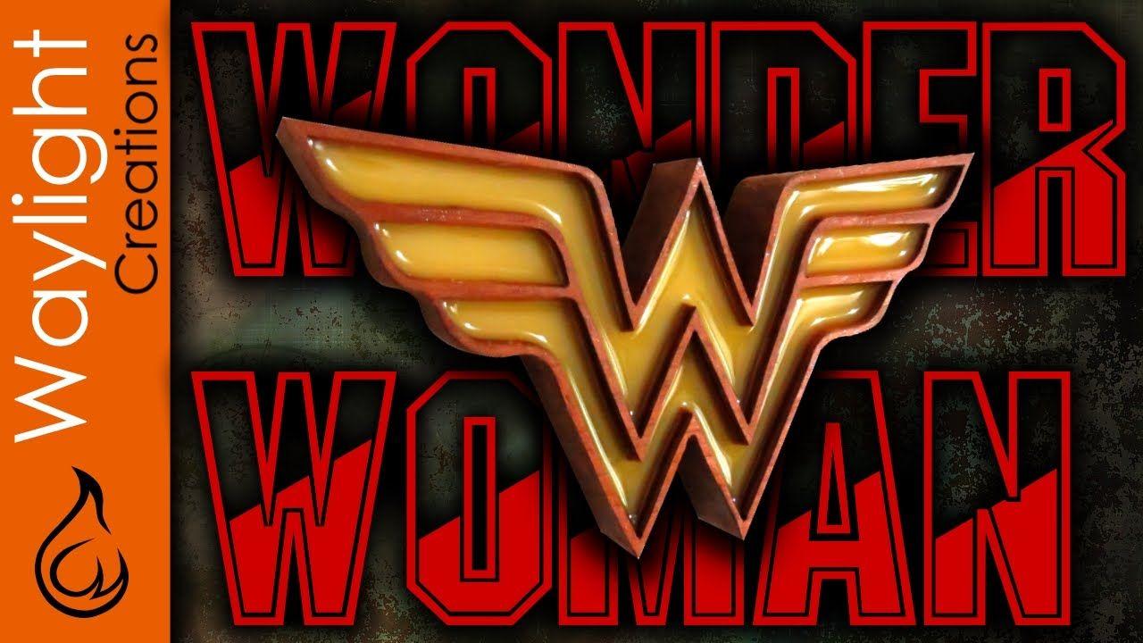 Make A Wonder Woman Emblem Justice League / DC 3