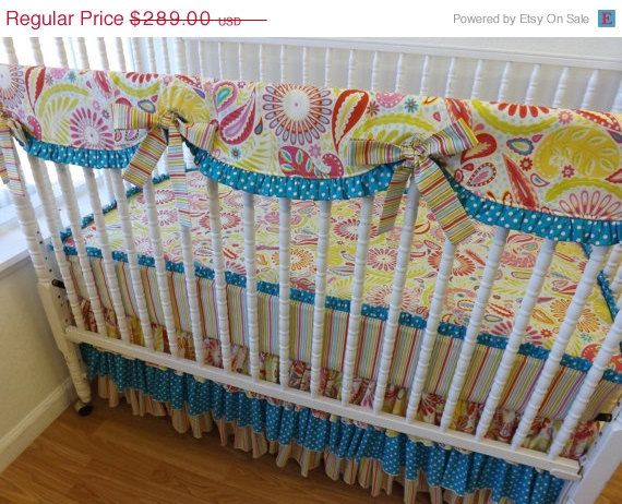 Clearance Sale Bumperless Crib Bedding Baby Bedding Ready To