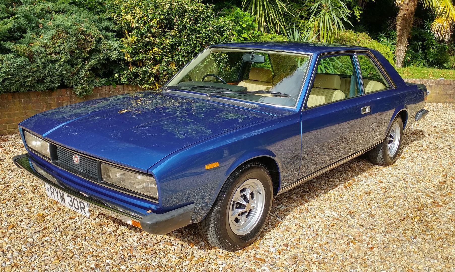 1977 Fiat 130 Coupe Fiat Coupe Leather Interior