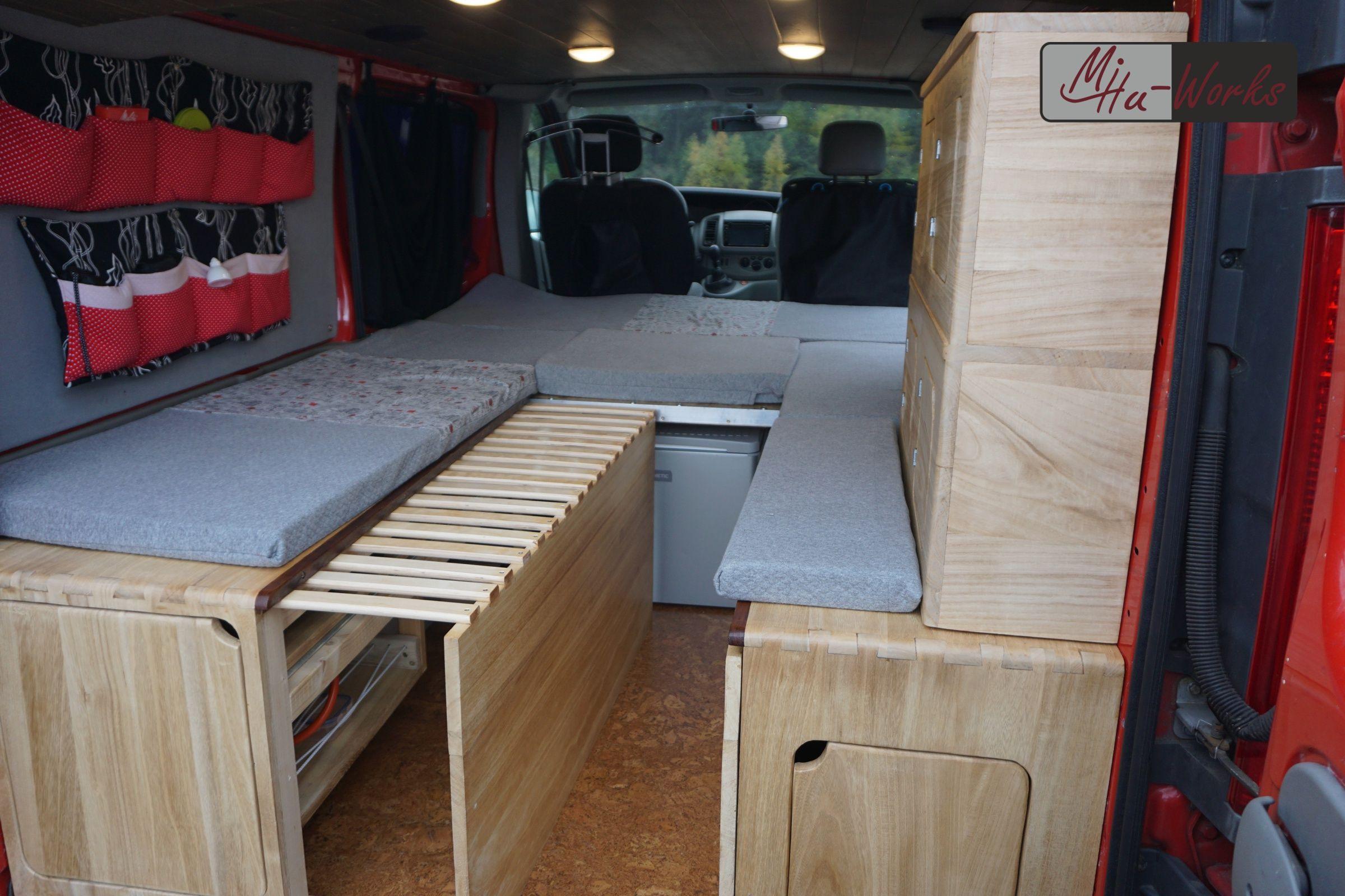 DIY Camper Ausbau Opel Vivaro MiHuWorks Camping ausbau