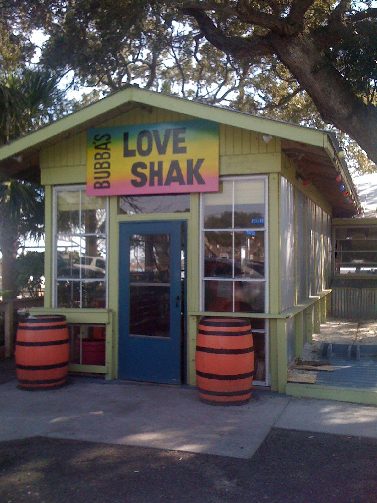 Restaurant Rave Bubba S Love Shak Murrells Inlet Sc With