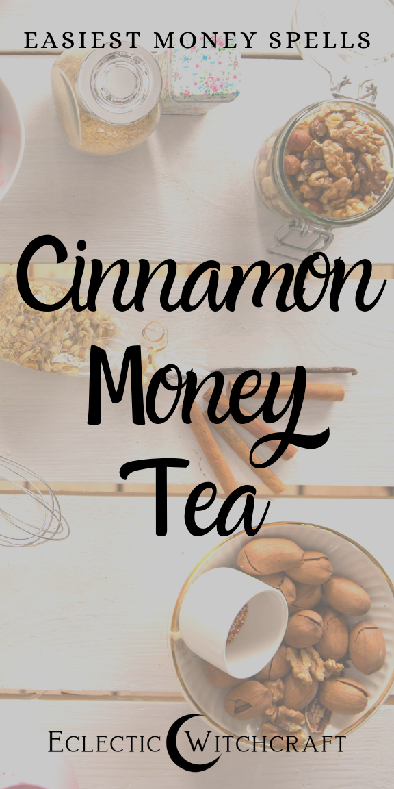 Prosperity Spell Simple Cinnamon Money Tea  Eclectic Witchcraft