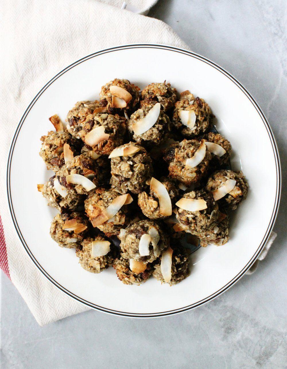 Healthy coconutraisin cookies almond recipes raisin