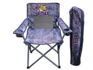 Ncaa Lsu Tigers Realtree Camo Folding Chair By Rivalry 29 99