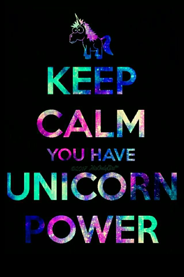 Unicorn power iPhone/Android galaxy wallpaper I created for