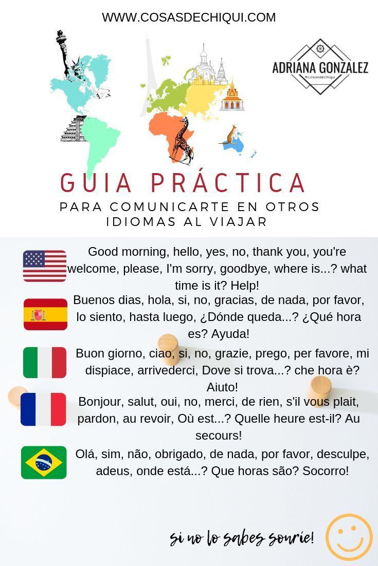 760 Ideas De Idiomas En Tus Viajes Vocabulario En Ingles Idiomas Expresiones En Ingles