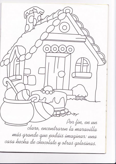 La Casita De Chocolate Colouring Pages Coloring Books Coloring Pages Colouring Pages