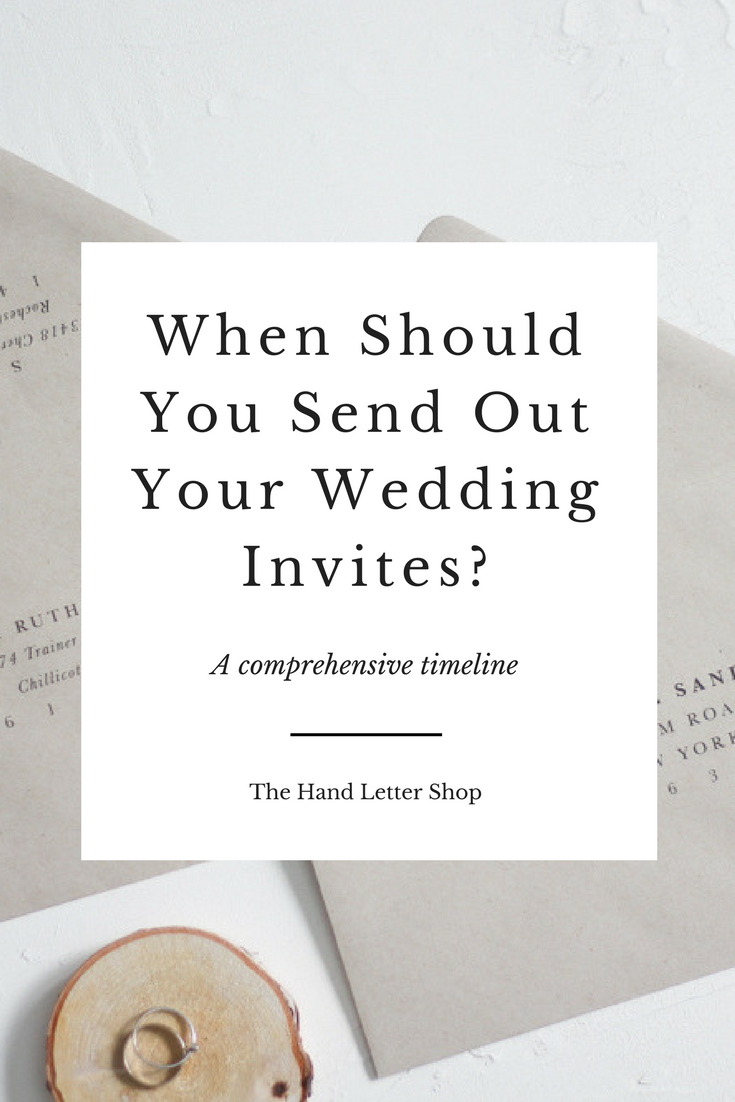 When to Send Out Your Wedding Invitations | Wedding Stationery ...