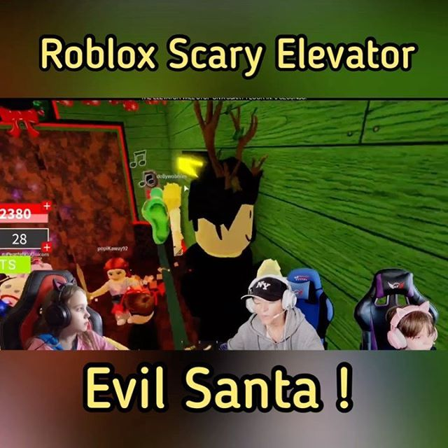 Roblox Creepy Elevator Code 2020 Roblox Scary Elevator And We Actually Meet Them All In The Update Evil Santa Was Pretty Creepy But At Least We Found The Rudo In 2020 Roblox Funny Roblox Game Creator