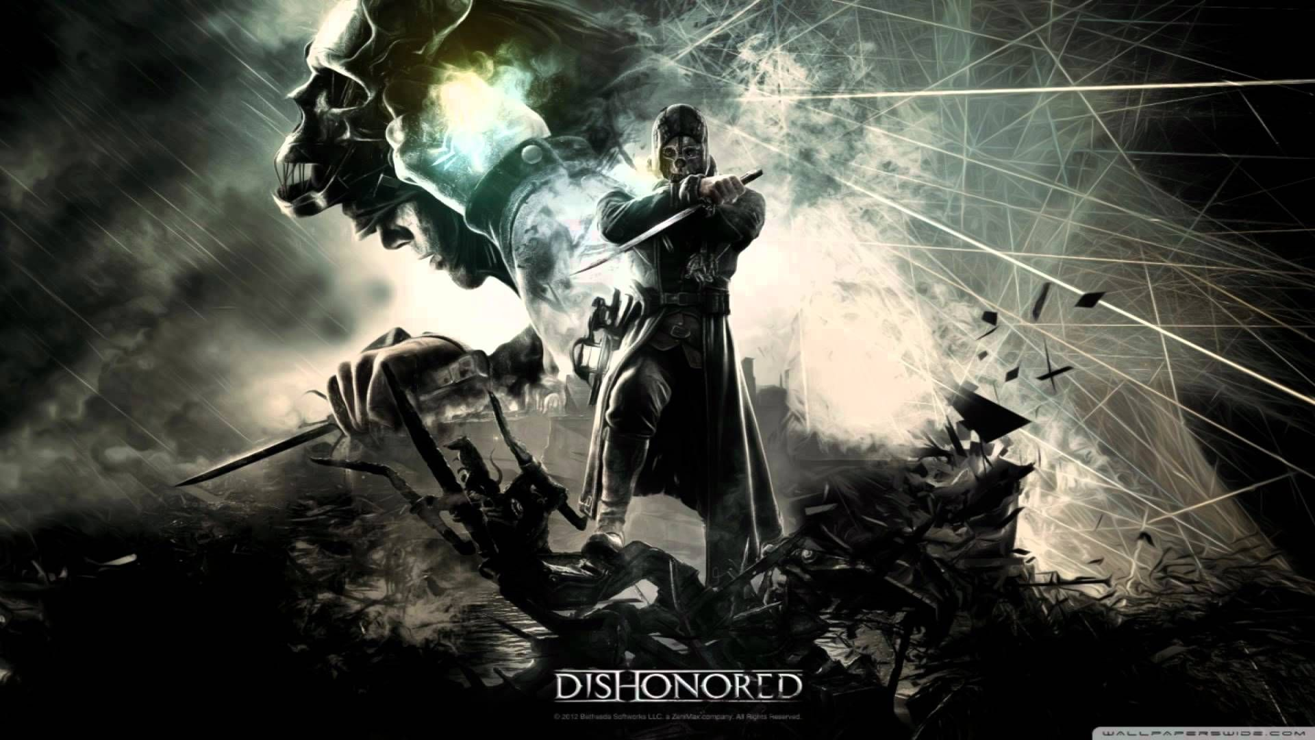 Honor For All Jon Licht And Daniel Licht Dishonored Hd Wallpaper Dishonored Pc