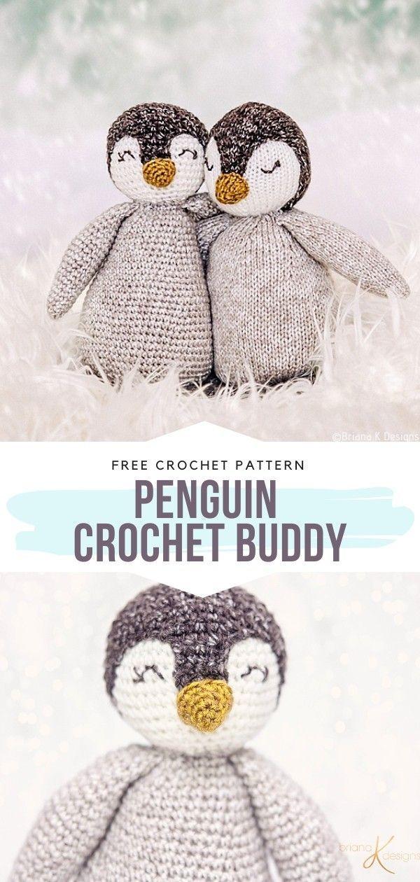 Photo of How to Crochet Penguin Crochet Buddy-   –  knithat.decorhous…-