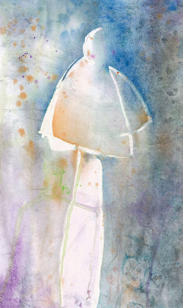 Fashion Illustration,Watercolour