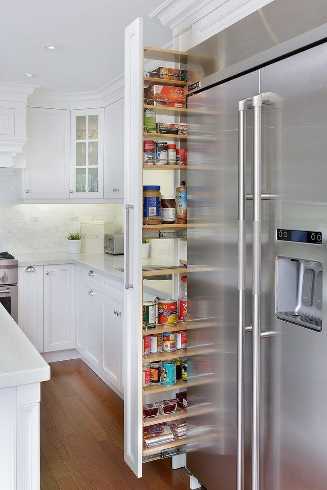 pull out scarf cabinet kitchen