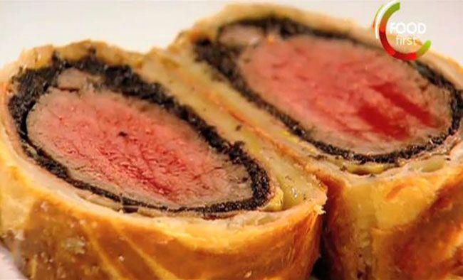 Gordon Ramsey Steak At Paris Las Vegas Beef Wellington Recipe Beef Wellington Recipe Wellington Food Beef Wellington