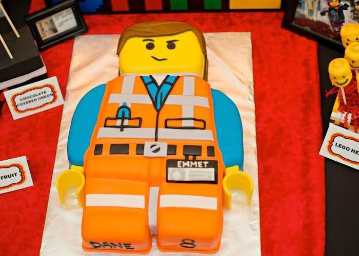 Lego Movie themed birthday party Full of Fabulous Ideas via Karas