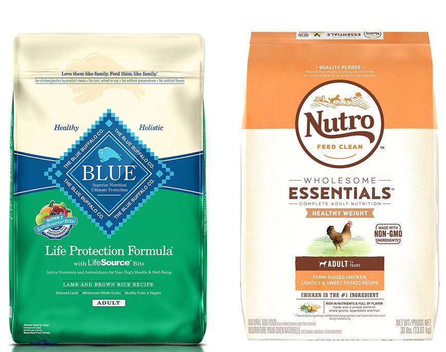 Blue buffalo vs nutro healthy dog food recipes blue