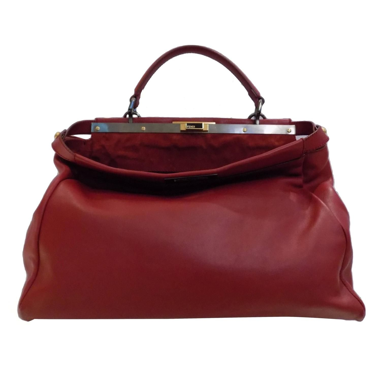 2737d181d180 Fendi Red Peekaboo Bag