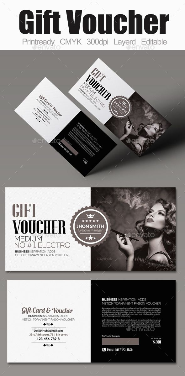 Multi use business gift voucher print templates template and business multi use business gift voucher template design download httpgraphicriveritemmulti use business gift voucher 12210467refksioks colourmoves