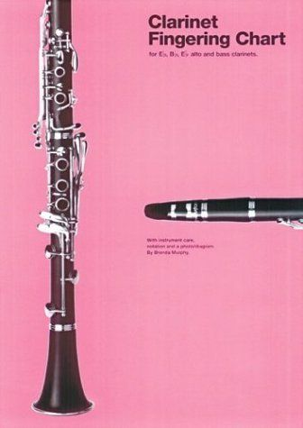 Amsco Clarinet Fingering Chart (Amsco Fingering Charts) by Hal - clarinet fingering chart