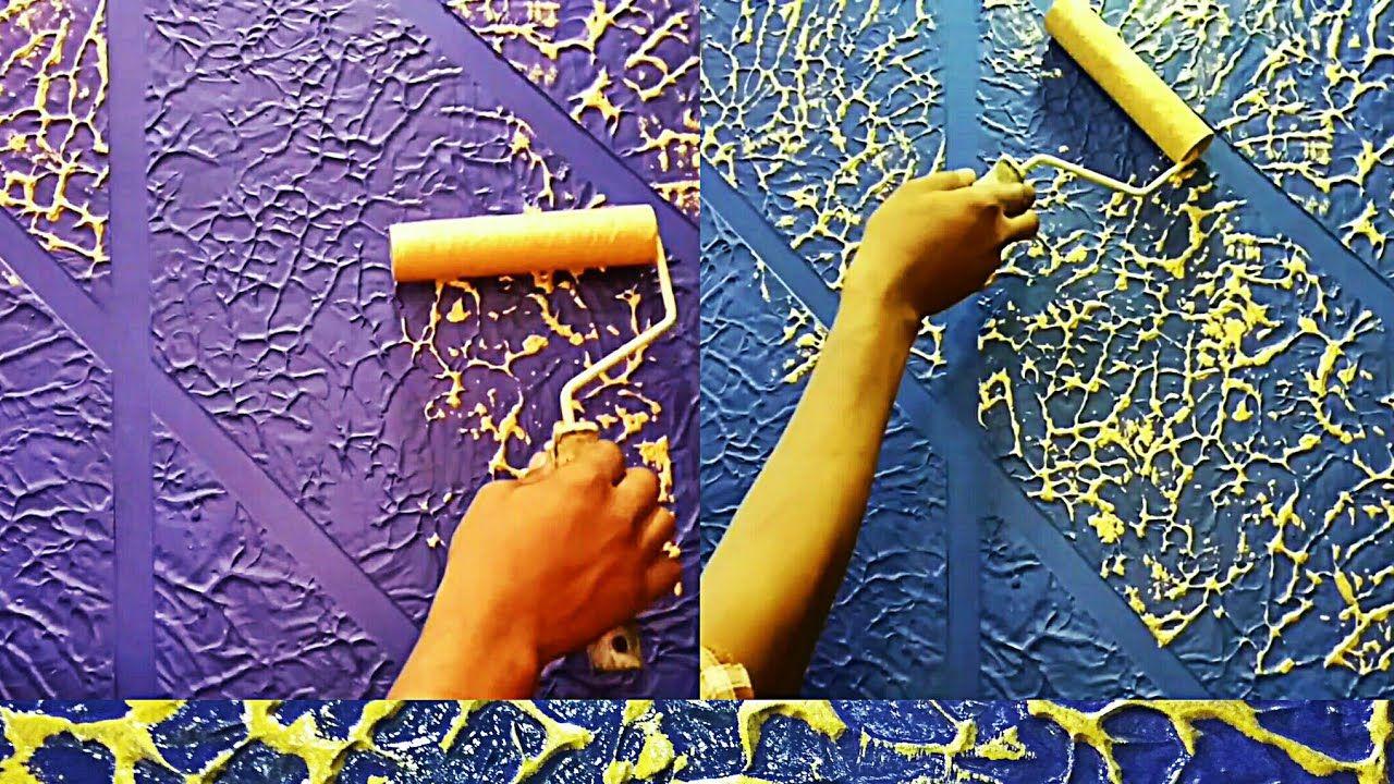Wall Putty Texture Panch Design Wall Texture Design Painting Textured Walls Wall Painting Techniques