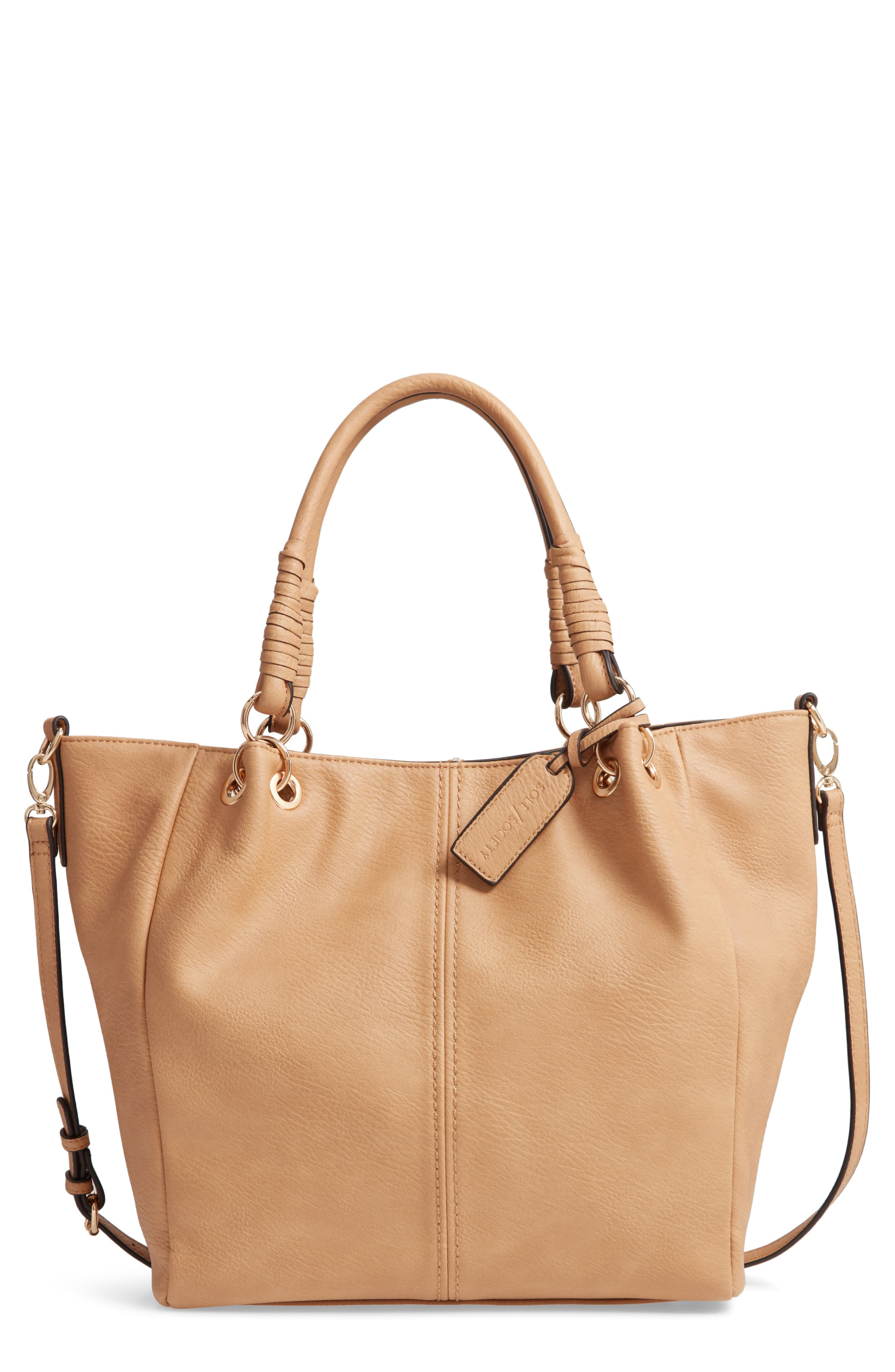 01e08474d9 Sole Society Rubie Faux Leather Tote in 2019 | Products | Leather, Sole