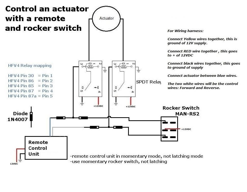 Using Both A Switch And Remote At The Same Time With Linear Actuators Linear Actuator Actuator Switch