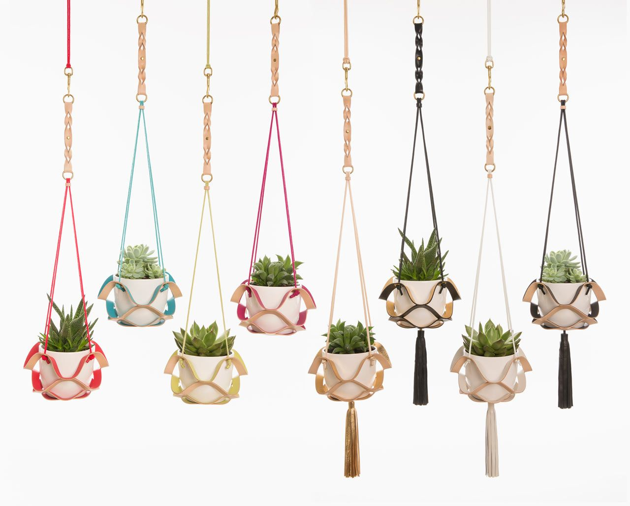 Handcrafted Plant Hangers by Kathryn Leah Payne