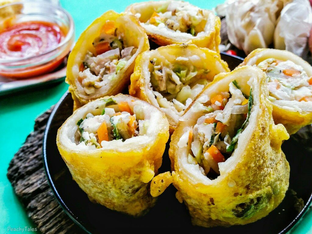 Tasty homemade hakien mauritian style spring rolls - Cuisine mauricienne chinoise ...