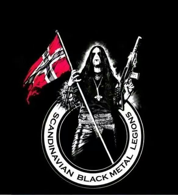 Scandinavian Black Metal Metal Bands Extreme Metal Band Posters