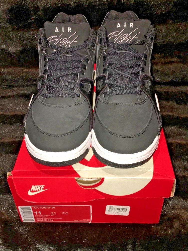 a968adf70c6a Nike Air Flight 89 - Python pack Black Charcoal-White  fashion  clothing